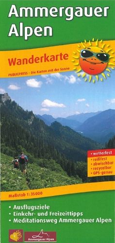 Hiking in the Ammergau Alps